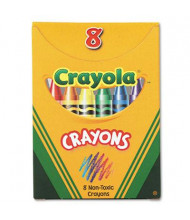 Crayola Classic Color Pack Crayons, Tuck Box, 8-Colors