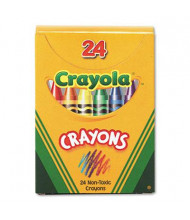 Crayola Classic Color Pack Crayons, Tuck Box, 24-Colors