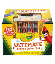 Crayola Ultimate Crayon Case with Sharpener Caddy, 152-Colors