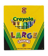 Crayola Large Crayons, 8-Colors
