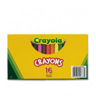Crayola Large Crayons, 16-Colors