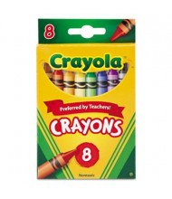 Crayola Classic Color Pack Crayons, 8-Colors