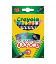 Crayola Construction Paper Crayons, 16-Colors
