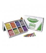 Crayola Jumbo Classpack Crayons, 8-Colors, 200-Crayons