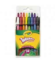 Crayola Twistables Mini Crayons, 24-Colors