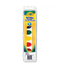 Crayola 8-Color Washable Watercolor Paint