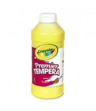 Crayola Premier 16 oz Tempera Paint, Yellow