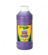 Crayola 16 oz Washable Paint Bottle, Violet