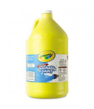Crayola 1-Gallon Washable Paint Bottle, Yellow