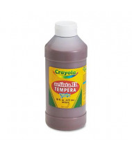Crayola Artista II 16 oz Washable Tempera Paint, Brown