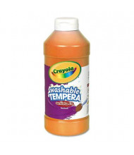 Crayola Artista II 16 oz Washable Tempera Paint, Orange