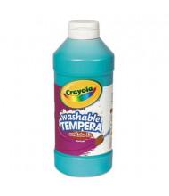 Crayola Artista II 16 oz Washable Tempera Paint, Turquoise