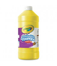 Crayola Artista II 32 oz Washable Tempera Paint, Yellow