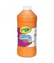 Crayola Artista II 32 oz Washable Tempera Paint, Orange