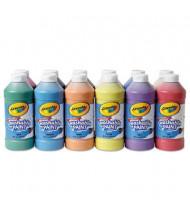 Crayola 16 oz Washable Paint Bottle Set, Assorted, 12/Set