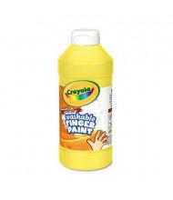 Crayola 16 oz Washable Fingerpaint Bottle, Yellow