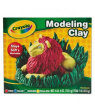 Crayola 4 oz Modeling Clay Assortment, Assorted, 4/Pack