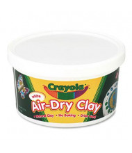 Crayola 2-1/2 lbs Air-Dry Clay, White