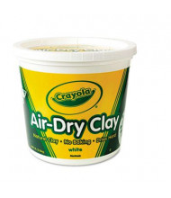 Crayola 5 lbs Air-Dry Clay, White