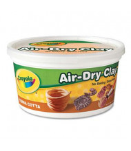 Crayola 2-1/2 lbs Air-Dry Clay, Terra Cotta