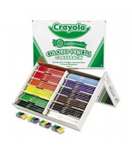 Crayola 3.3 mm Assorted Colors Woodcase Pencils, 240-Pack