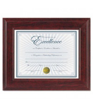"DAX Executive Document Frame, 8.5"" W x 11"" H, Mahogany"