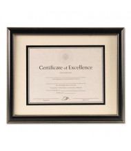 """DAX Office Solutions Black Plastic Document Frame, 12.75"""" W x 15.75"""" H"""