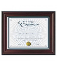 "DAX Rosewood Document Frame, 8.5"" W x 11"" H"