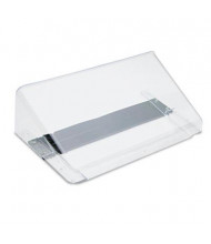 Deflect-o DocuPocket 1-Pocket Letter Magnetic Wall File Pocket, Clear