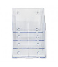 Deflect-o 4-Section Magazine Size DocuHolder, Clear