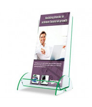 Deflect-o Euro-Style DocuHolder for Leaflets, Clear
