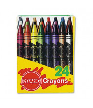 Prang Crayons Made with Soy, 24-Colors
