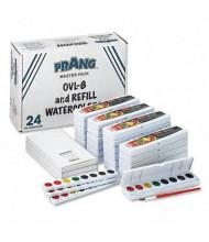 Prang 8-Color Professional Watercolors Masterpack, 36/Set