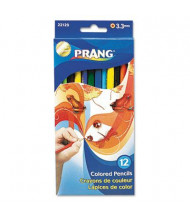 Prang 3.3 mm Assorted Colors Woodcase Pencils, 12-Pack