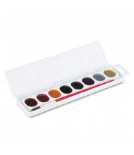 Prang 8-Color Glitter Washable Watercolors