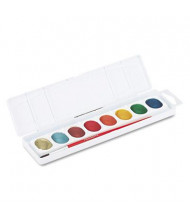 Prang 8-Color Metallic Washable Watercolors
