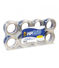 "Duck 1.88"" x 60 yds HP260 Carton Sealing Tape, 3"" Core, 8-Pack"