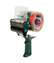 "Duck Extra Wide Packaging Tape Gun Dispenser, 3"" Core"