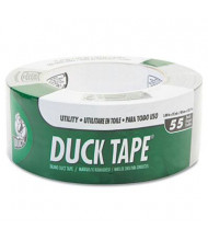 "DuckTape 1.88"" x 55 yds Utility Grade Tape, 3"" Core, Gray"