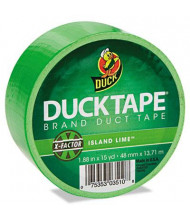 "DuckTape 1.88"" x 15 yds Colored Duct Tape, 3"" Core, Neon Green"