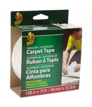 "Duck 1.88"" x 25 yds Carpet Tape, 3"" Core"