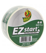 "Duck 1.88"" x 60 yds EZ Start Clear Premium Packaging Tape, 3"" Core"