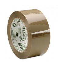 """Duck 1.88"""" x 60 yds HP260 Tan Carton Sealing Tape, 3"""" Core"""