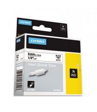 "Dymo Rhino 18051 Heat Shrink Tube 1/4"" x 5 ft. Industrial Label Cartridge, White"