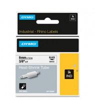 "Dymo Rhino Heat Shrink Tube 3/8"" x 5 ft. Industrial Label Cartridge, White"