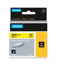 "Dymo Rhino Heat Shrink Tube 1/2"" x 5 ft. Industrial Label Cartridge, White"