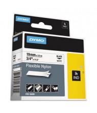 "Dymo Rhino Nylon 3/4"" x 11-1/2 ft. Industrial Label Cartridge, White"