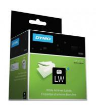 "Dymo LabelWriter 30320 1-1/8"" x 3-1/2"" Address Labels, White, 520/Pack"