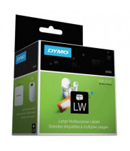 """Dymo LabelWriter 30324 2-3/4"""" x 2-1/8"""" Diskette Labels, White, 320/Pack"""