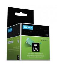 "Dymo LabelWriter 30327 9/16"" x 3-7/16"" 1-Up File Folder Labels, White, 260/Box"